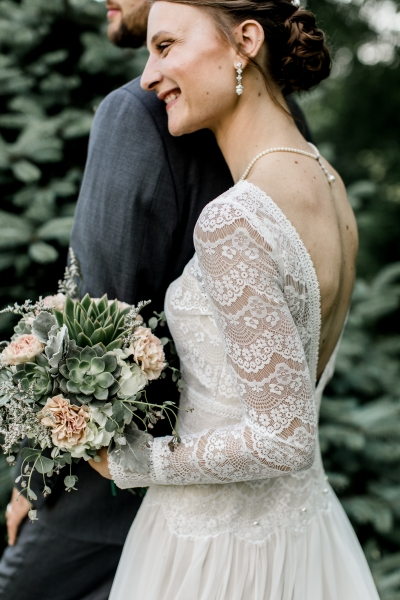 Ally & Brodie, the Garden by the Gate Floral Design, Eliot & Company