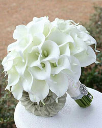 Hand-tied Calla Lily Bouquet